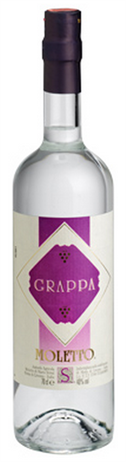 Moletto Grappa Distillato dUva